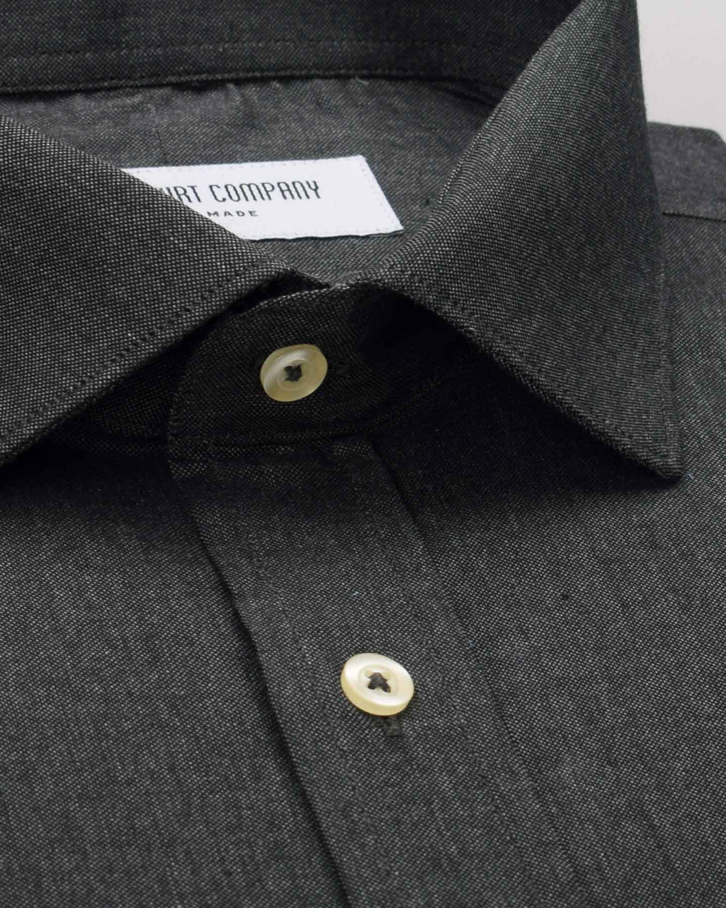Thomas Mason Dark Grey Shirt