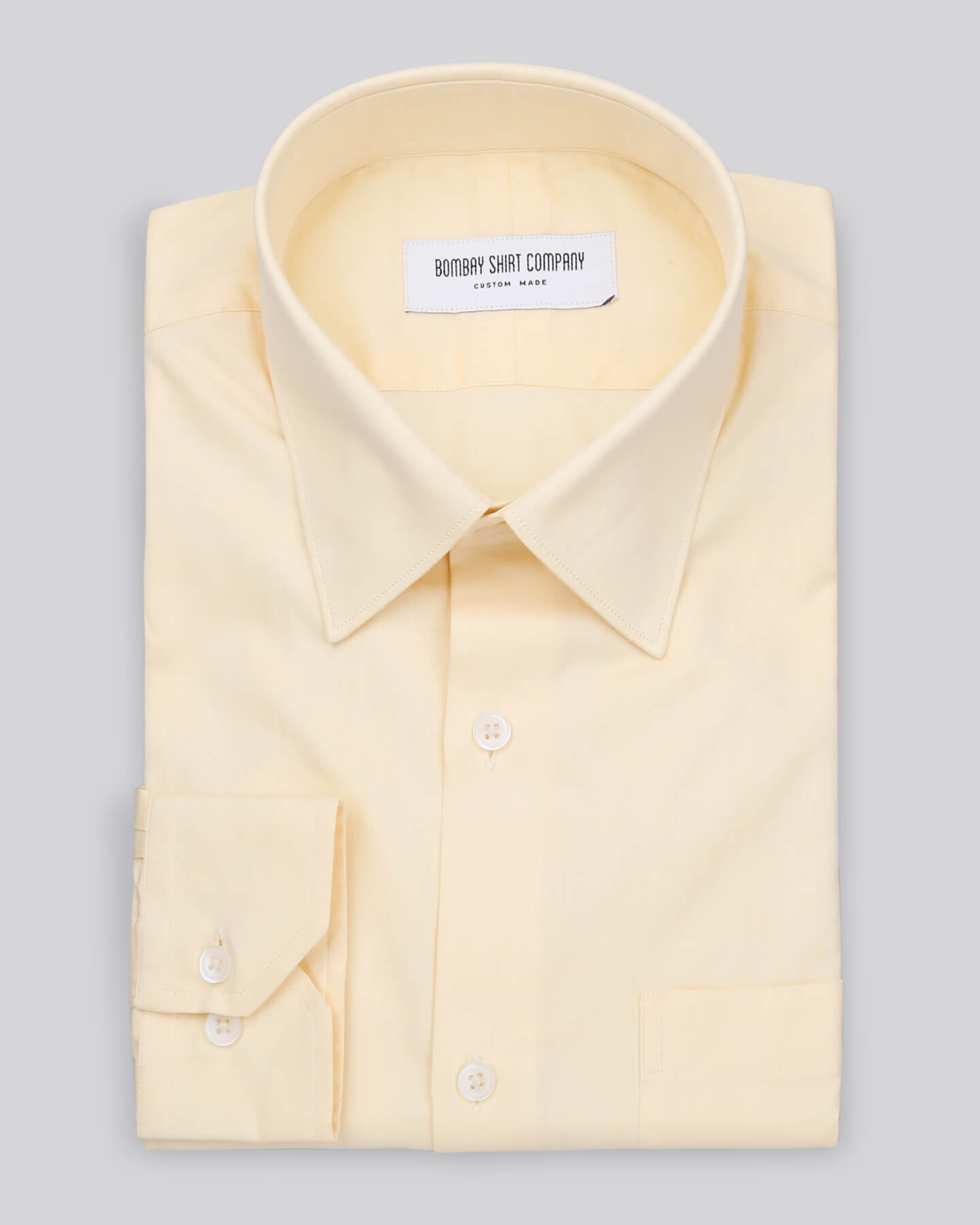 Yellow Twill Shirt