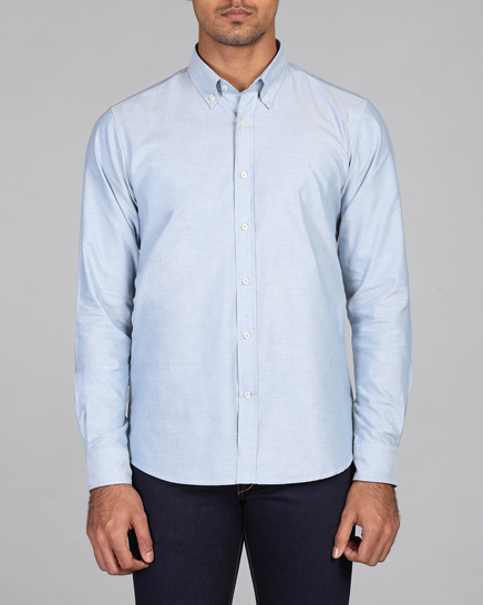 Shadow Blue Oxford Shirt