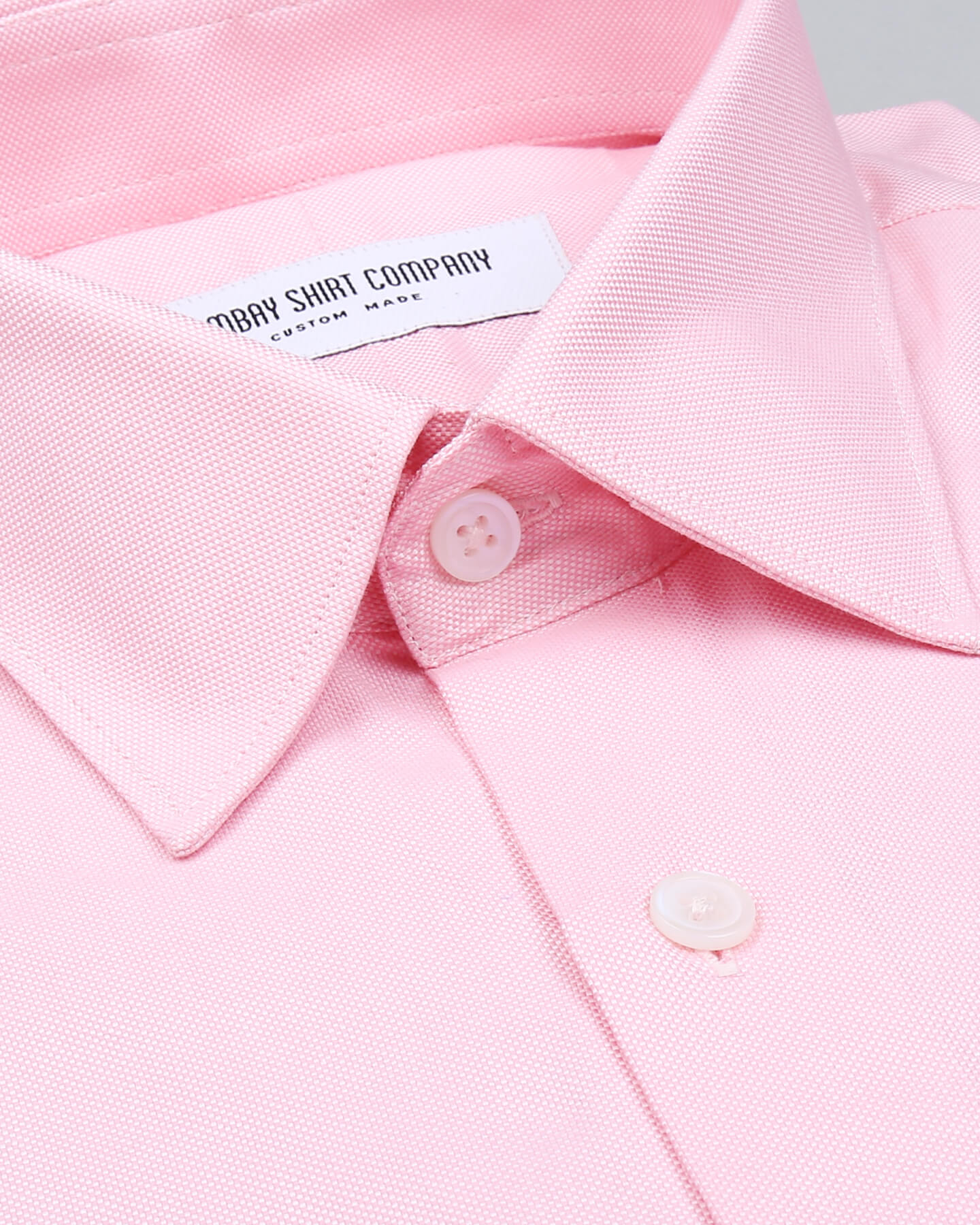 Wrinkle Resistant Pink Pin Point Shirt