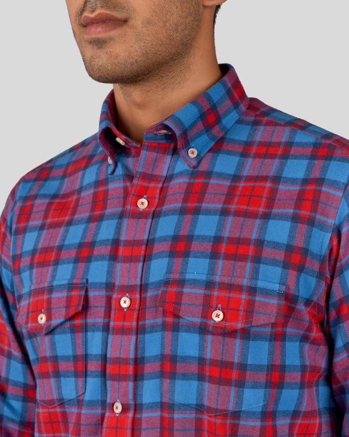 Macaw Flannel Checks Shirt