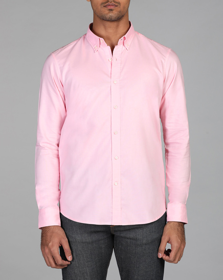 Light Rose Oxford Shirt