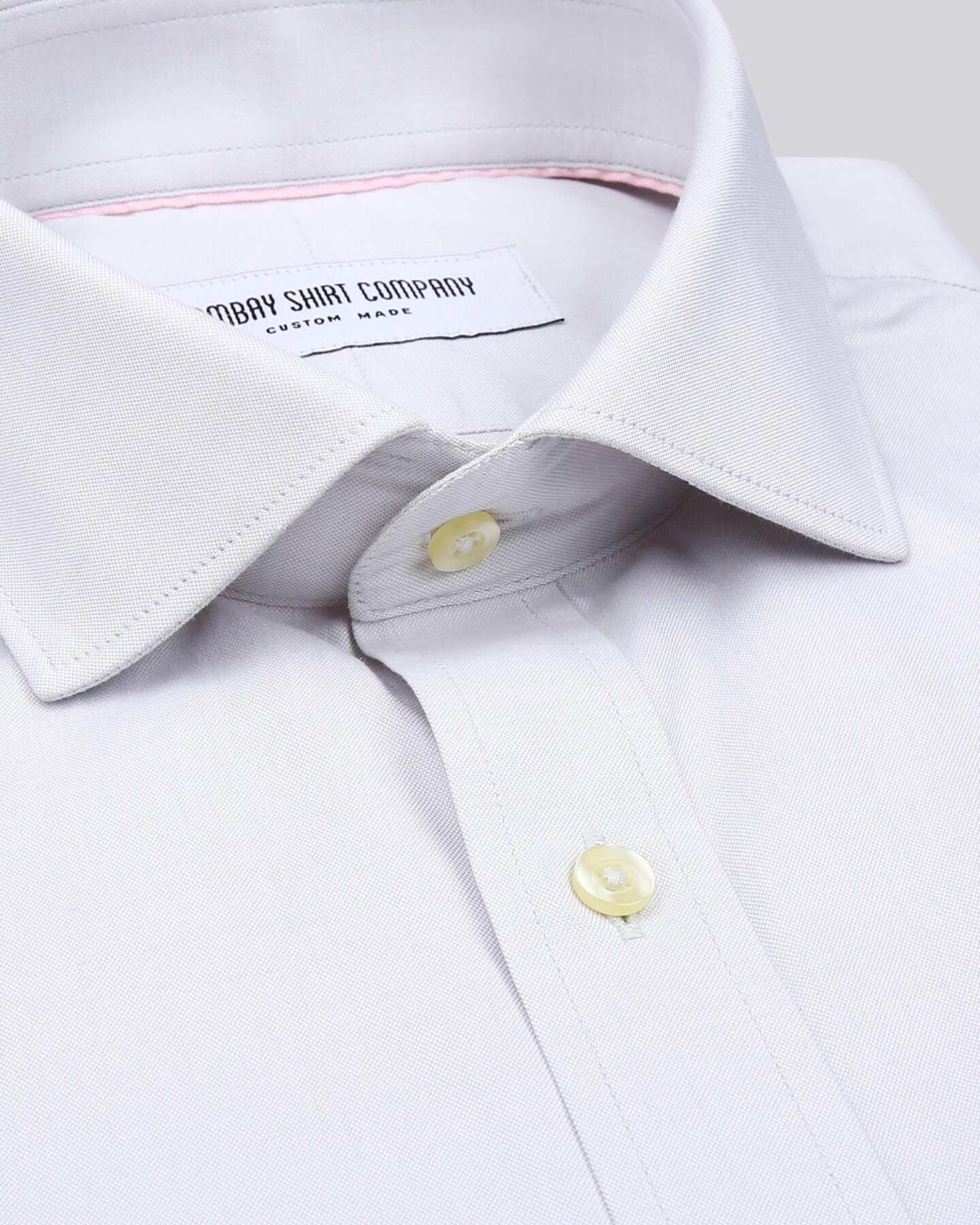 Wrinkle Resistant Premium Light Grey Oxford Shirt