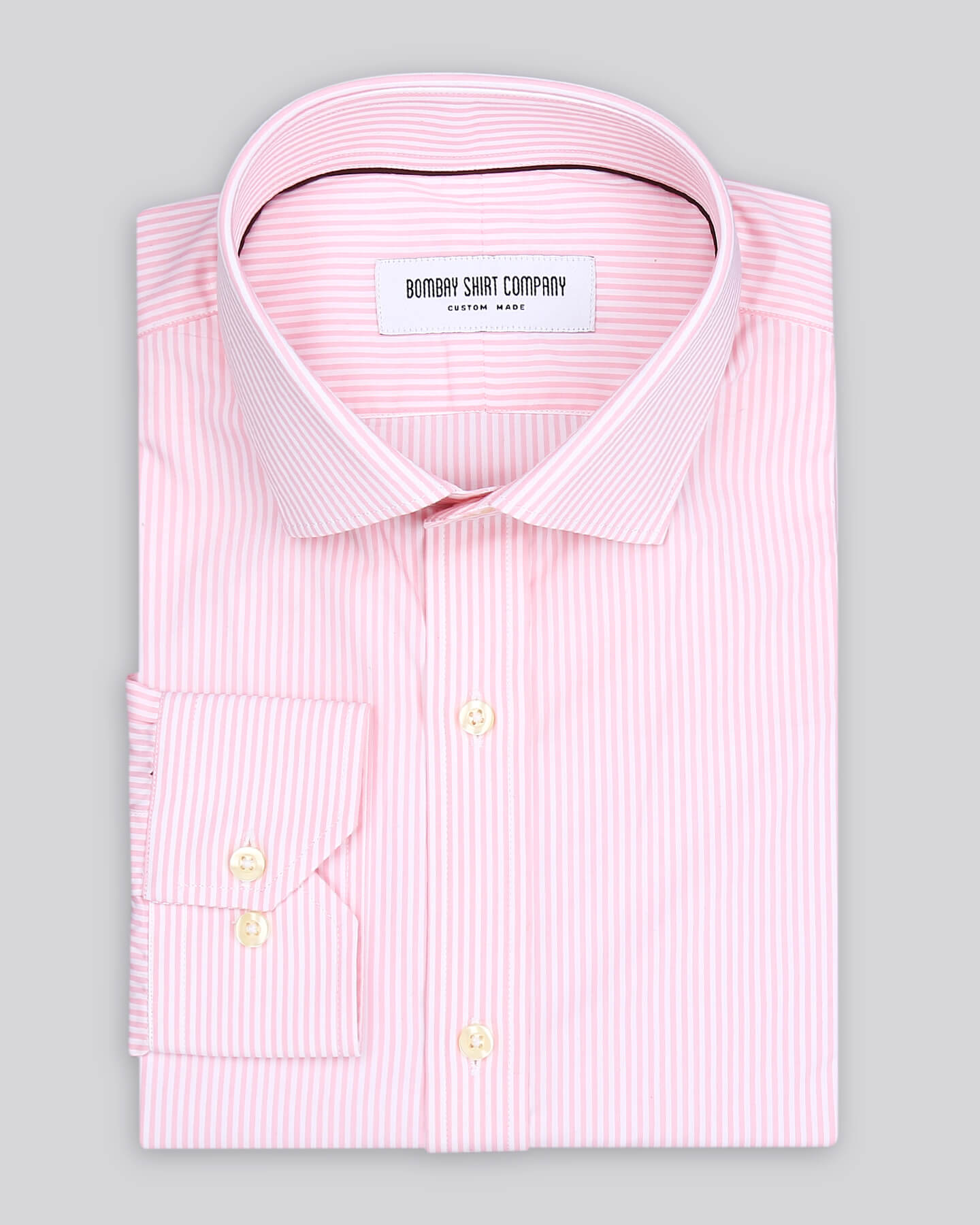 Light Pink Stripes Shirt