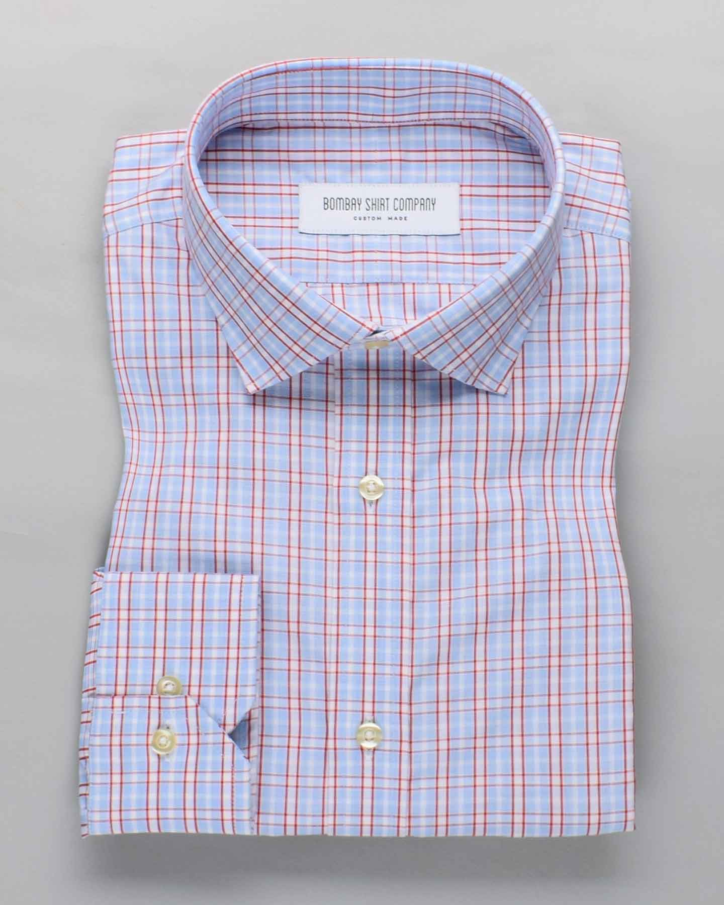 Rouge Window Checks Shirt