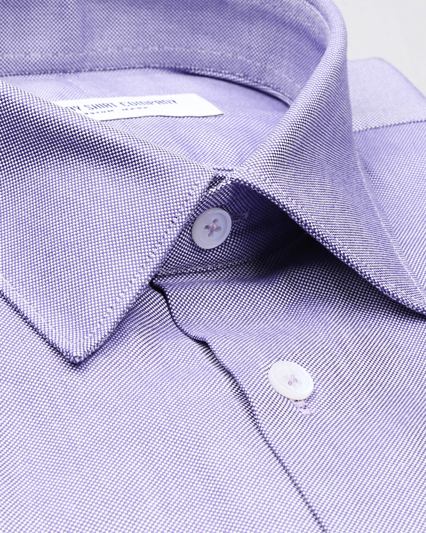 Wrinkle Resistant Purple Pin Point Shirt