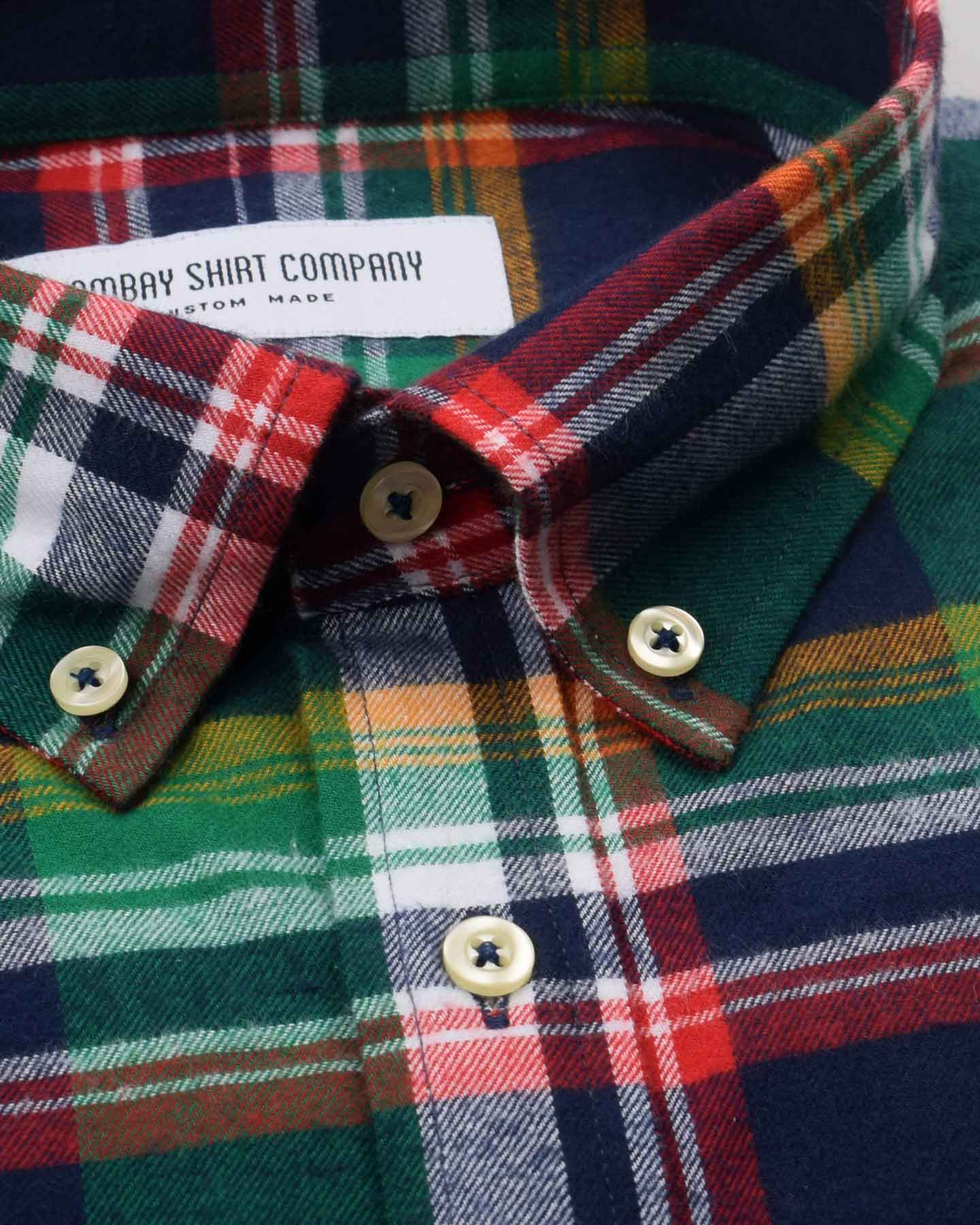 Toucan Flannel Checks Shirt