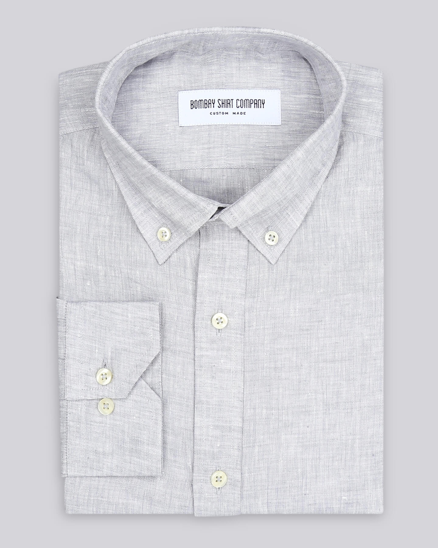Moth grey italian linen Shirt