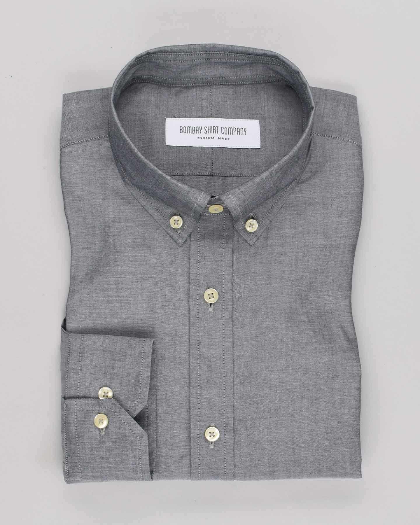 Japanese Greyish Blue Shirt