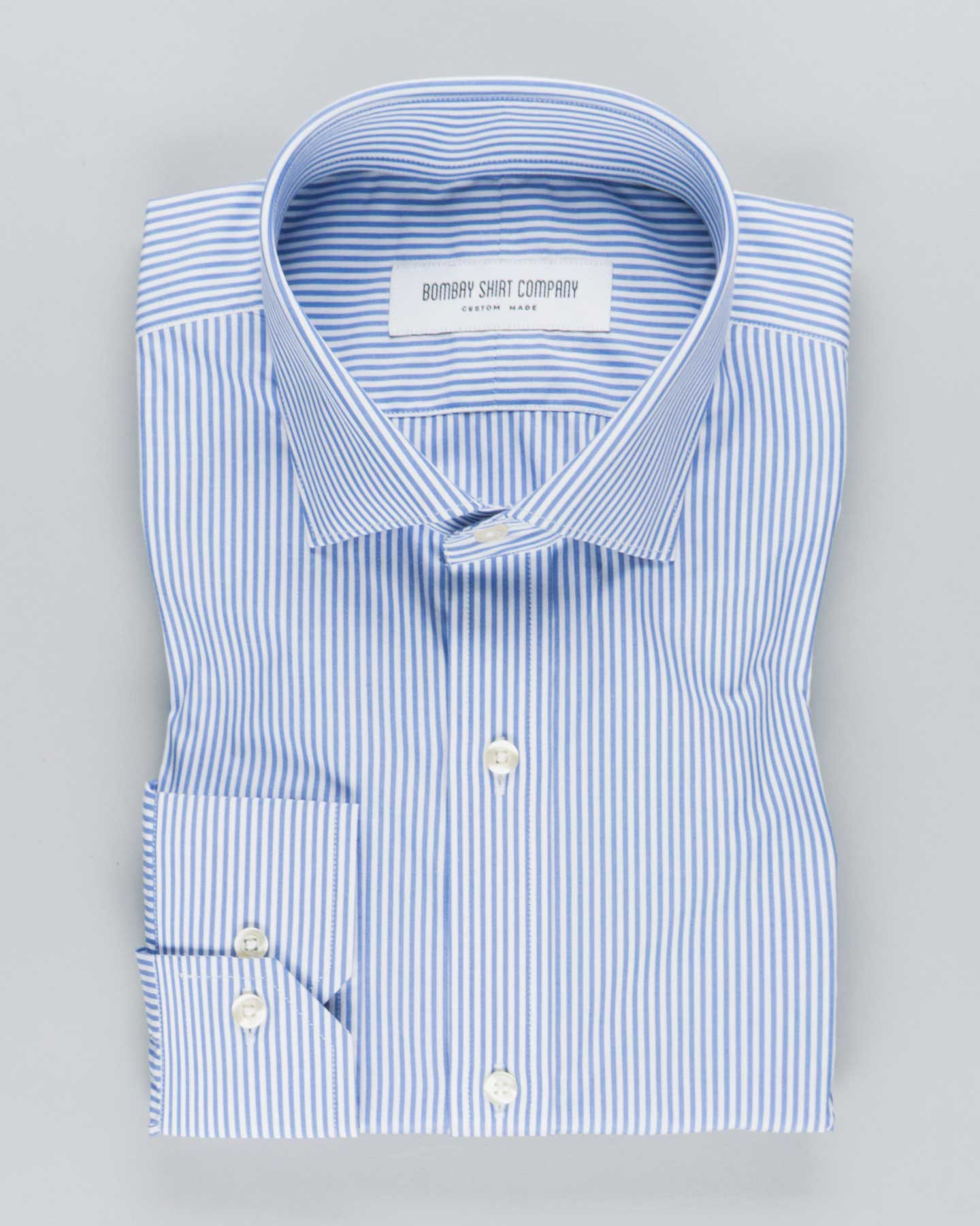 Candy Blue Stripes Shirt