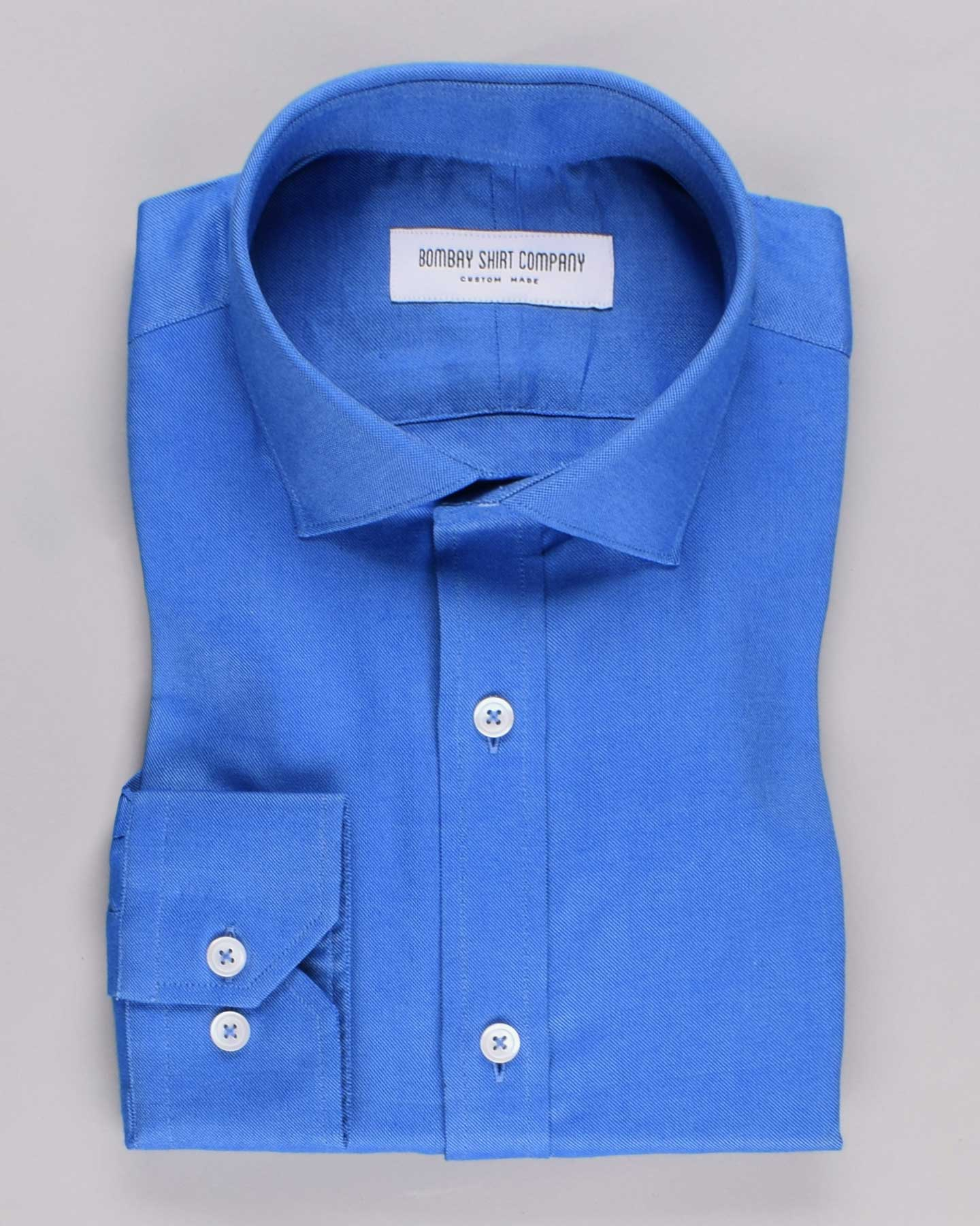 Vibrant Blue Oxford Shirt