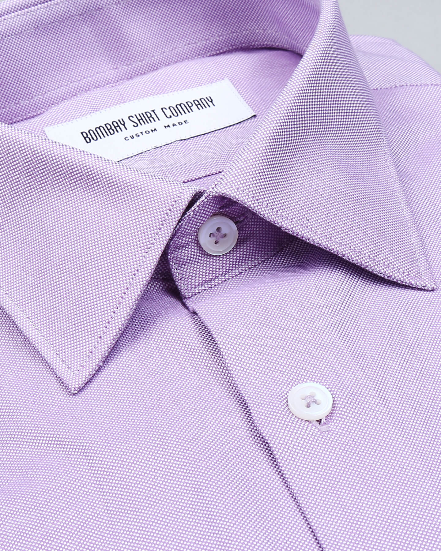 Wrinkle Resistant Lavender Pin Point Shirt