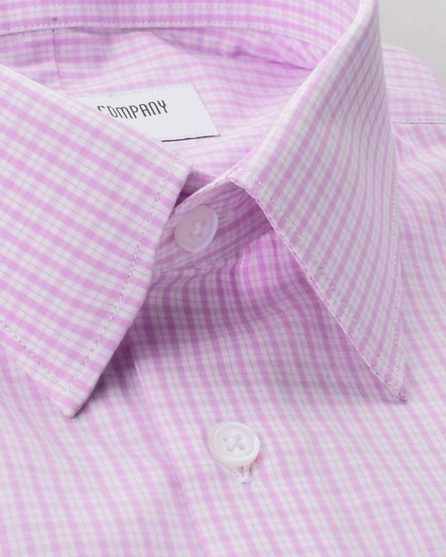Wrinkle Resistant Quartz Checks Shirt