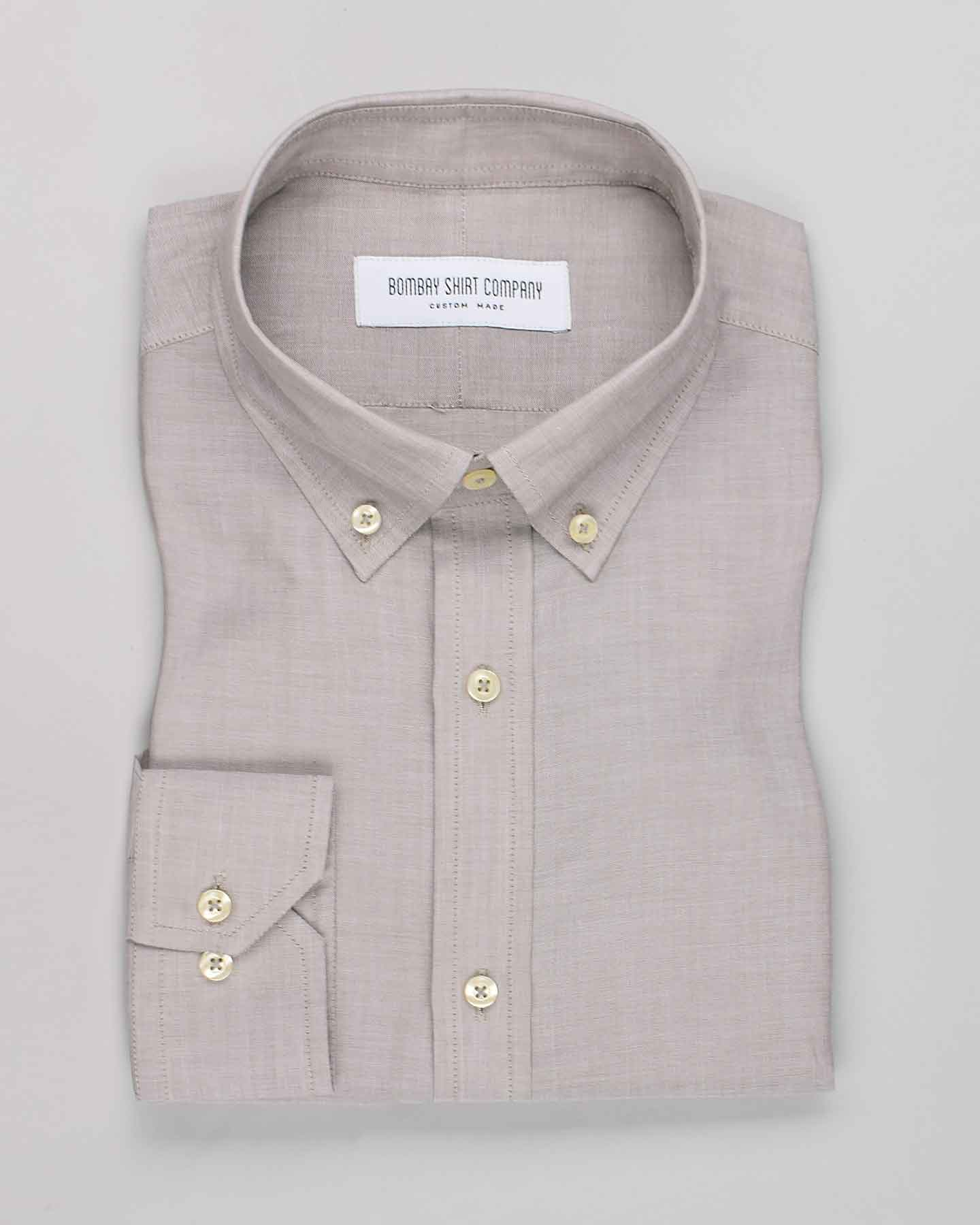 Japanese Dovetail Beige Shirt