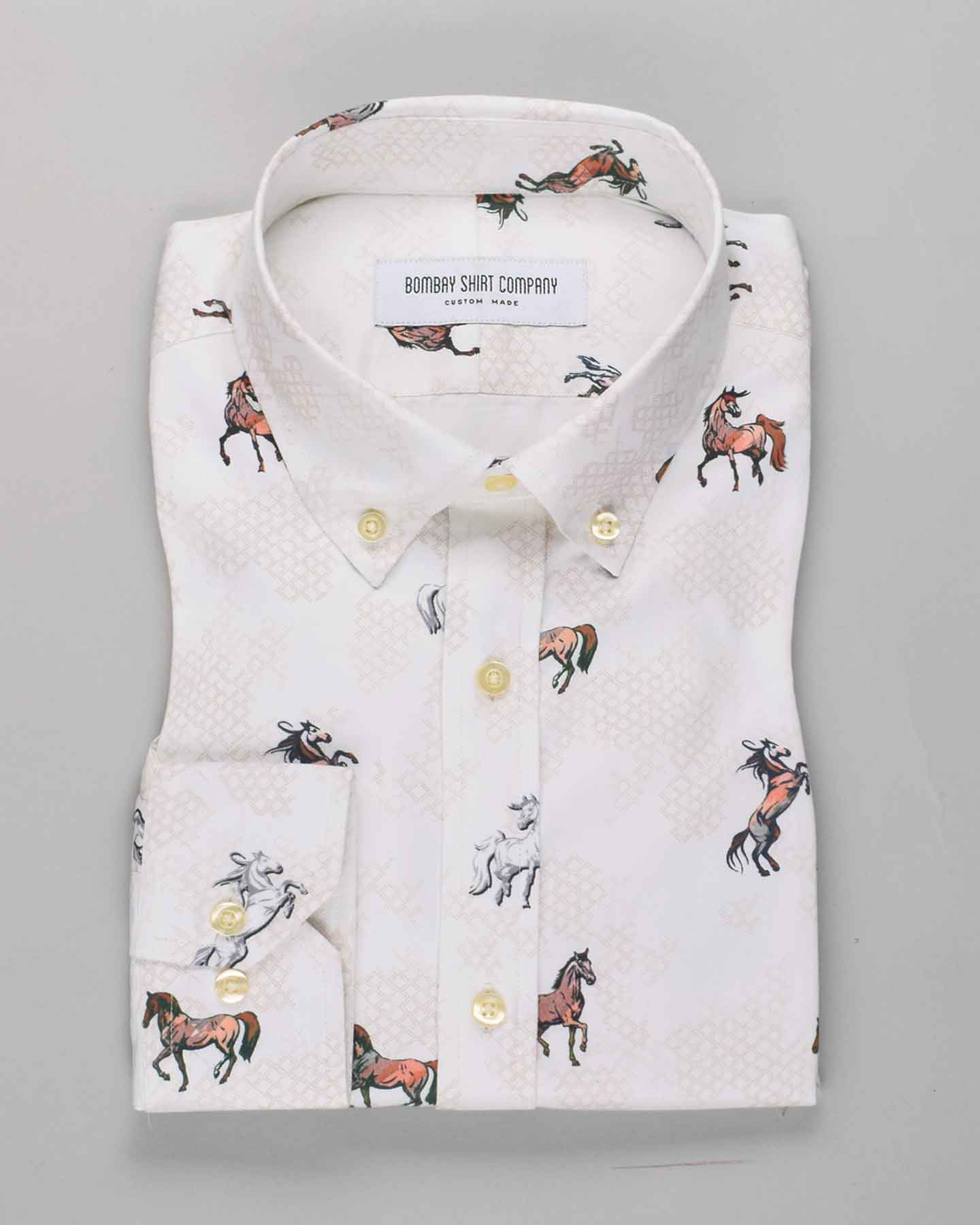 Regal Horse Print Shirt