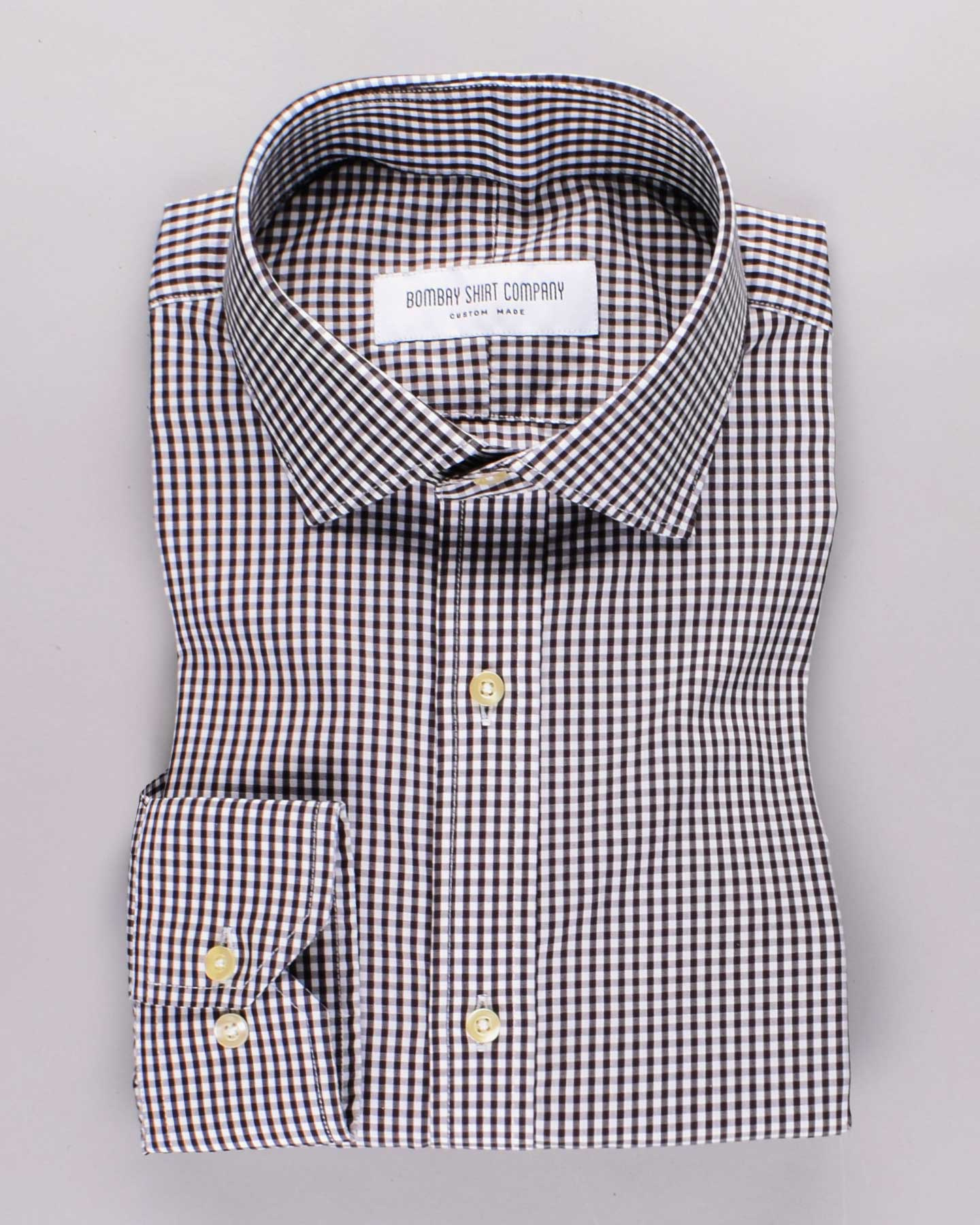 Wrinkle Resistant Monochrome Checks Shirt