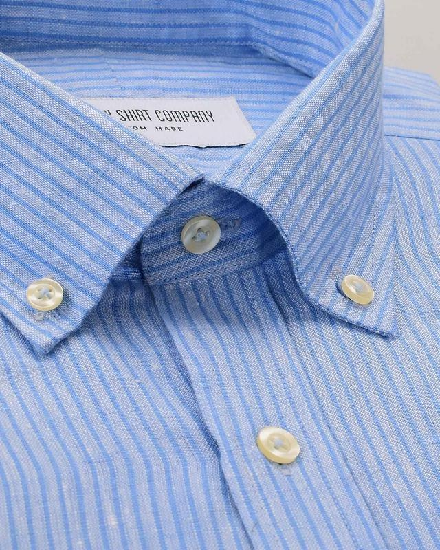 Indie Blue Stripes Shirt