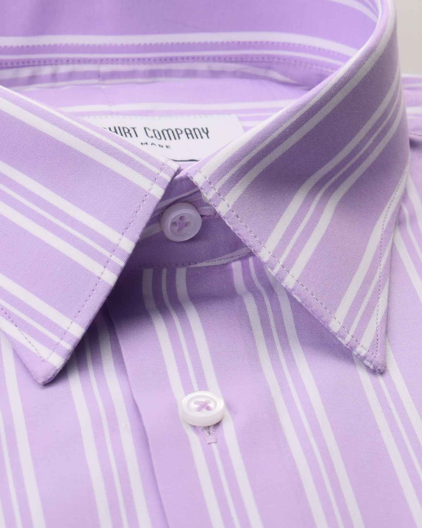 Lavender Stripes Shirt