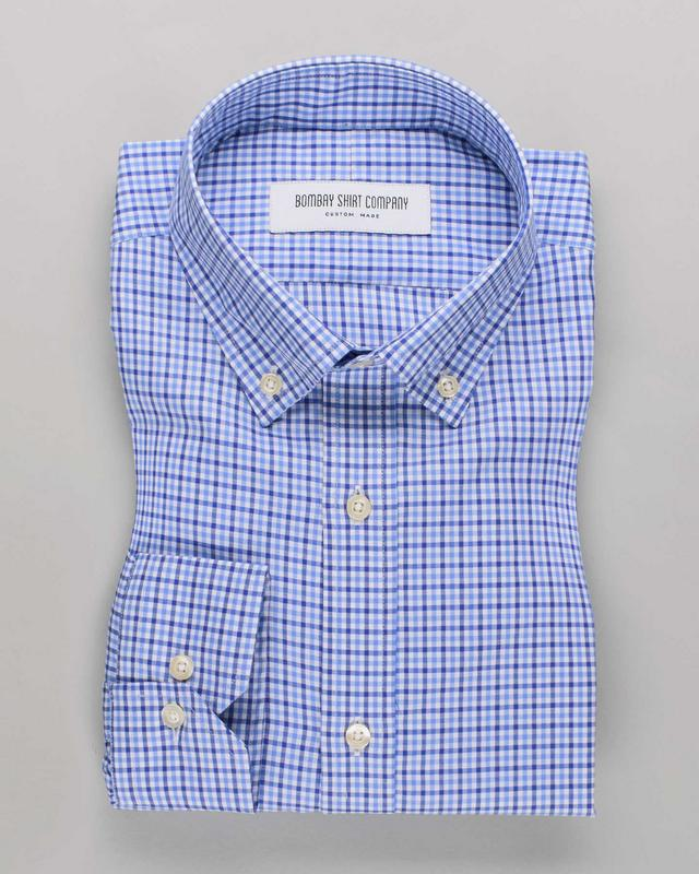 Wrinkle Resistant Riverside Checks Shirt