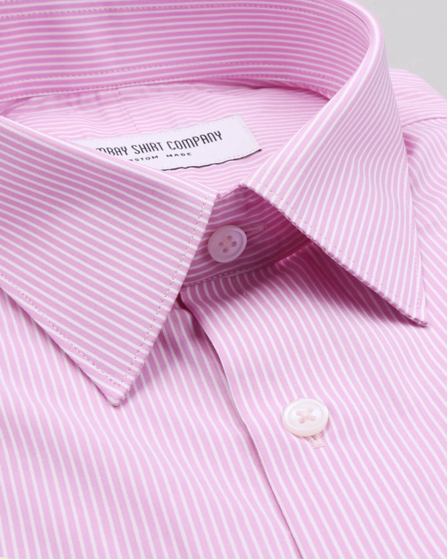 Pinstriped Pink Shirt