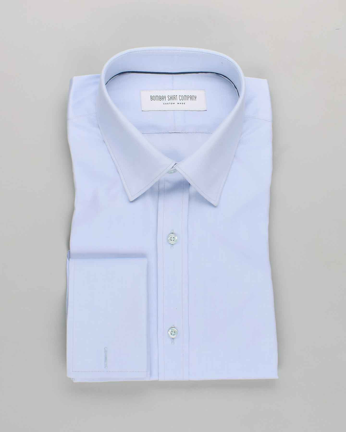 Thomas Mason Sky Blue Shirt