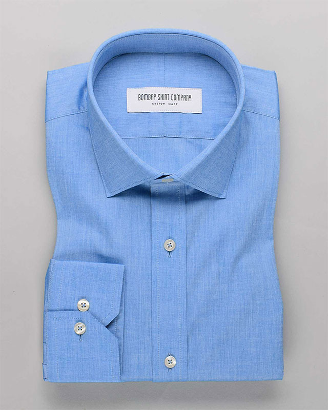 Ether Blue Chambray Shirt