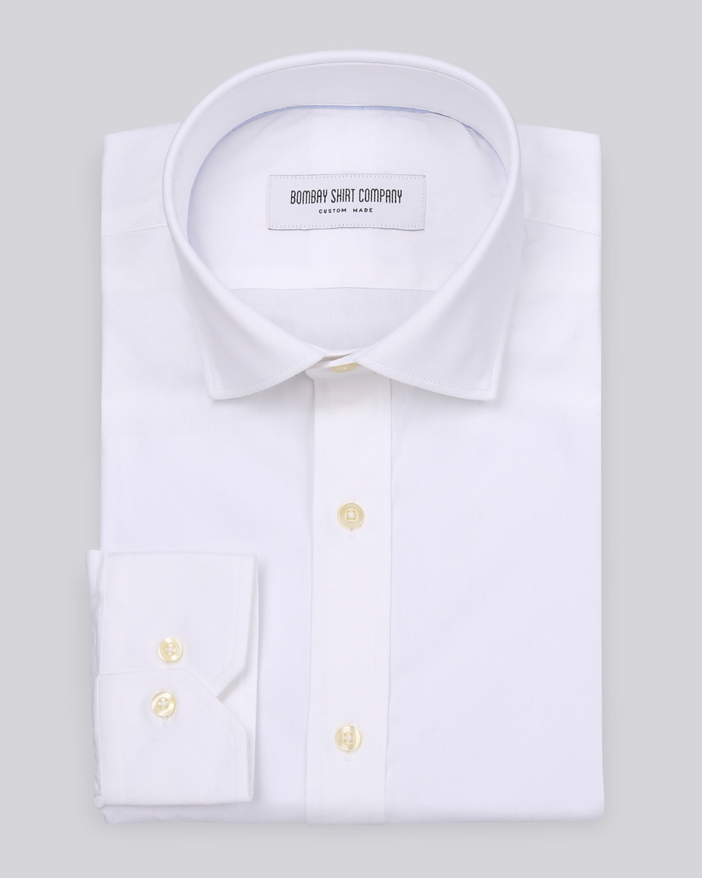 Wrinkle Resistant White Oxford