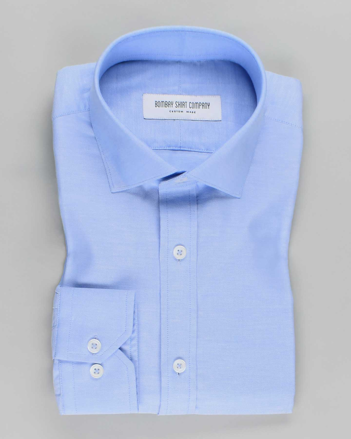Pale Blue Oxford