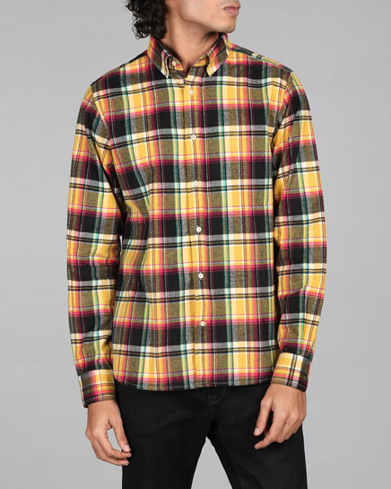 Japanese Picnic Checks Shirt