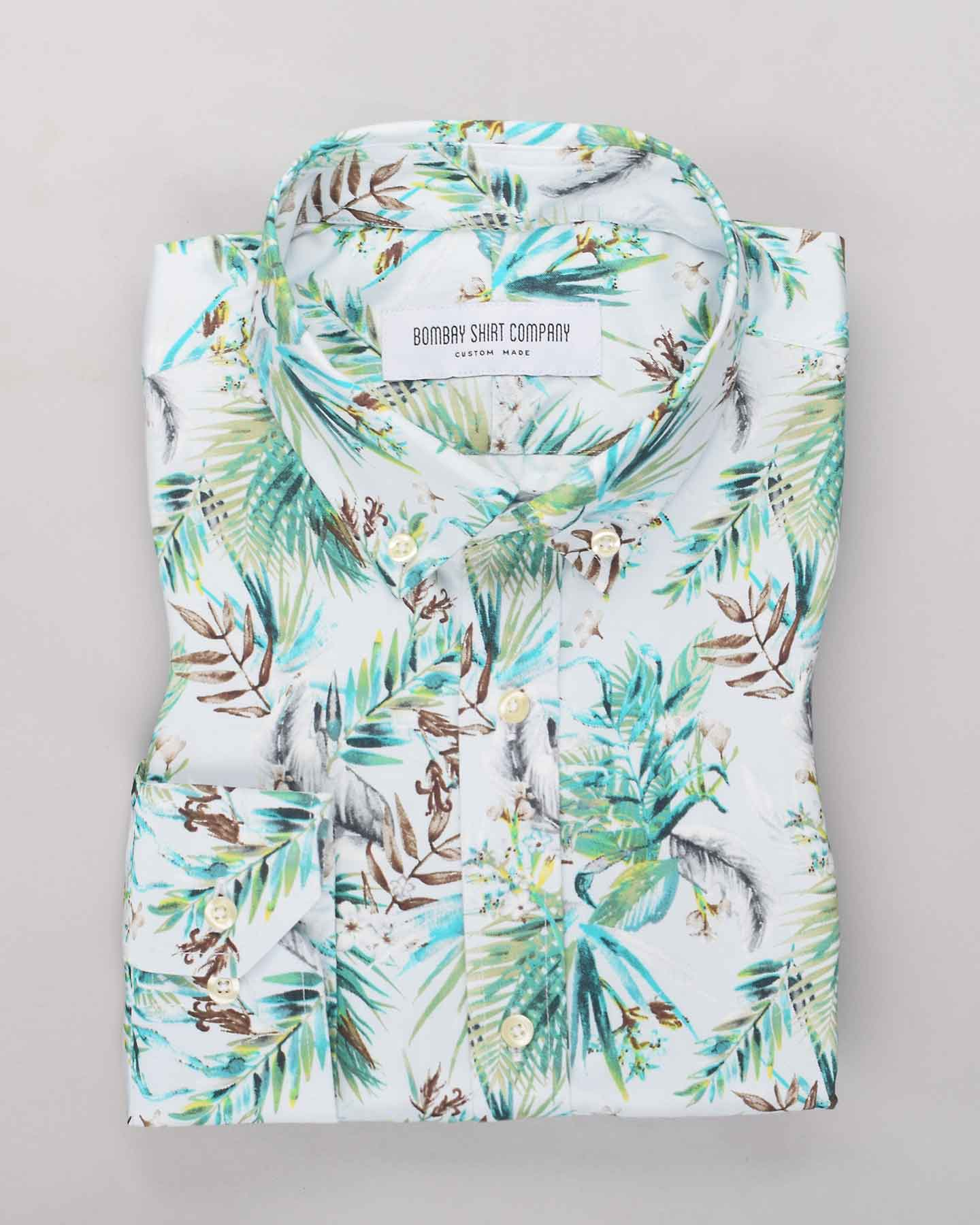 Hawaiian Summers Print Shirt
