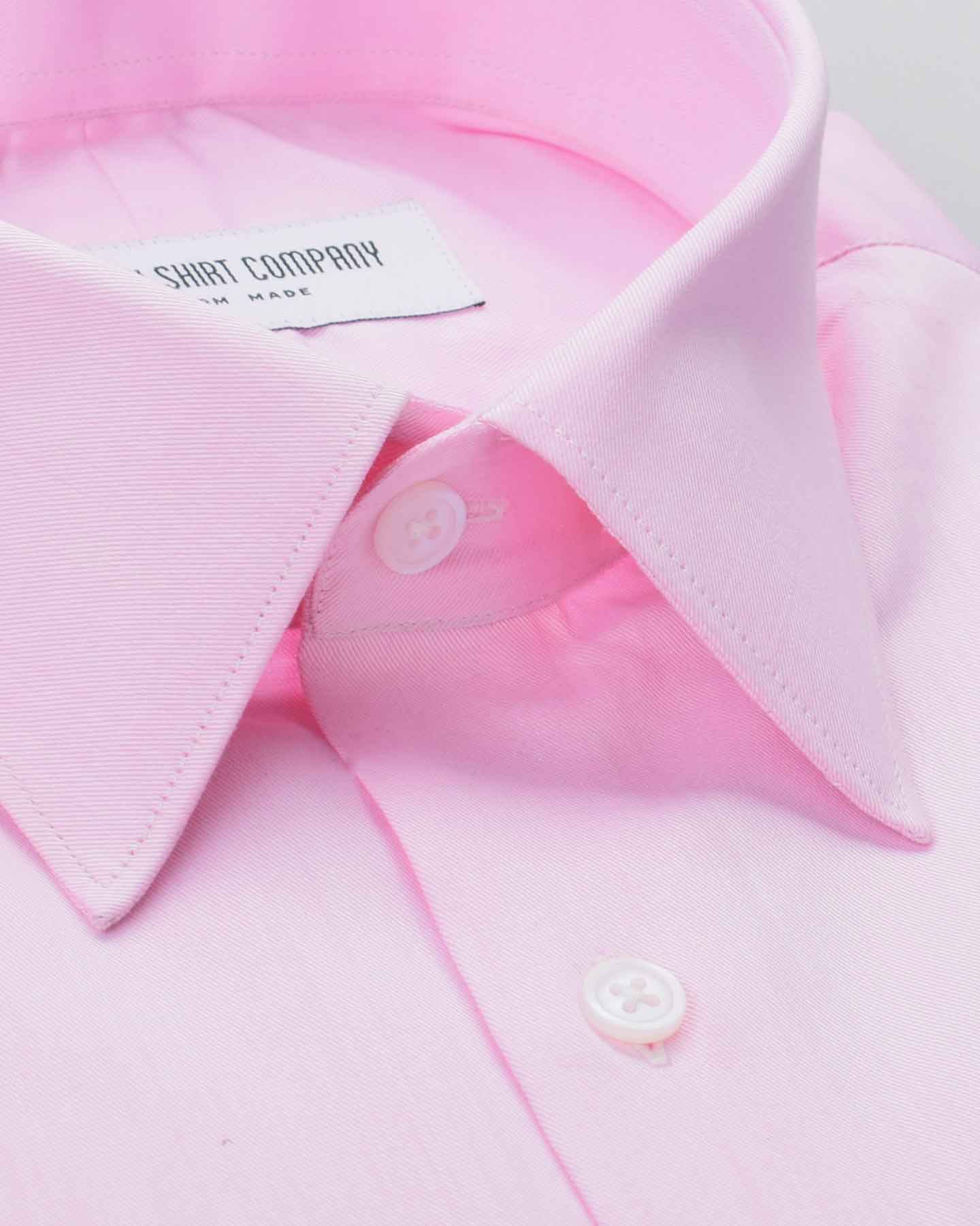 Berry Pink Twill Shirt