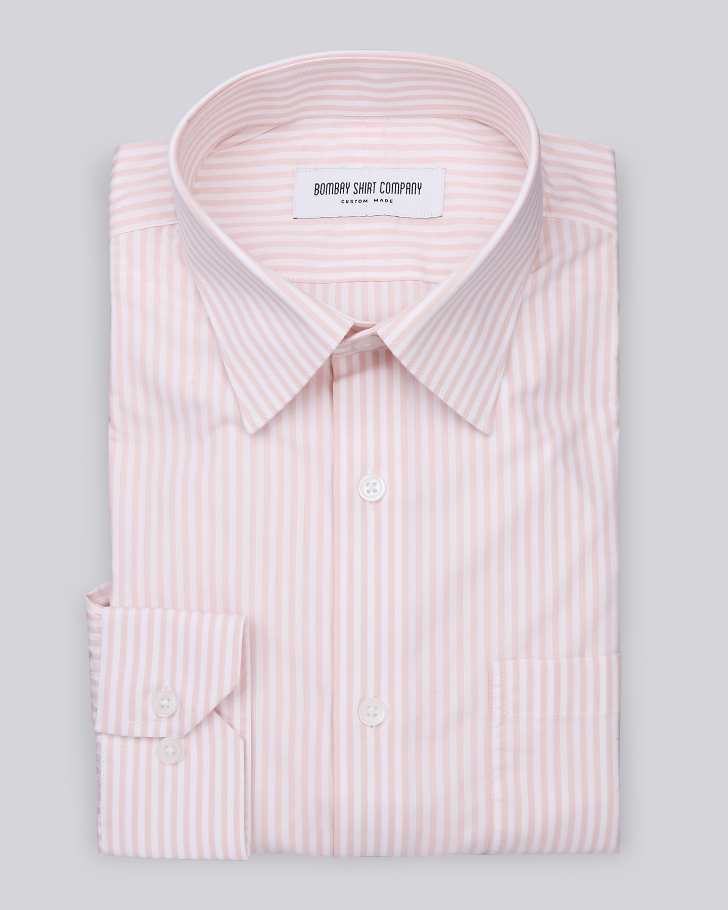 Peach Stripes Shirt